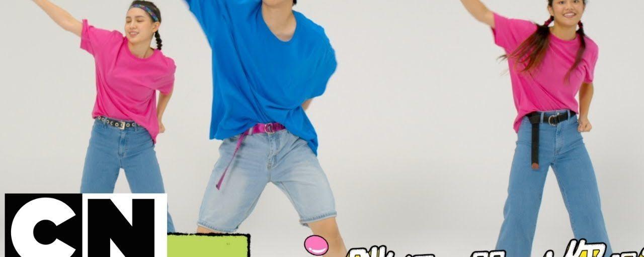CN-卡通街舞健身操